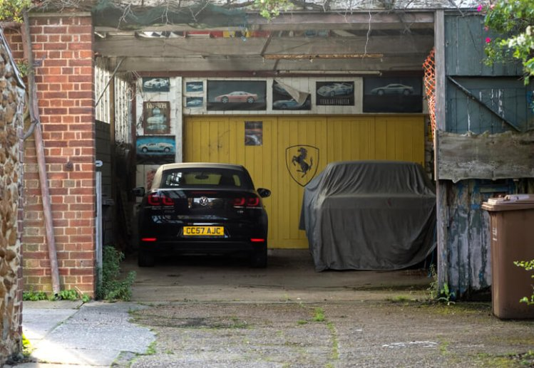 VW Boro parked in a domestic garage for sale.